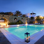Mykonos, Greece. Property and Model released.