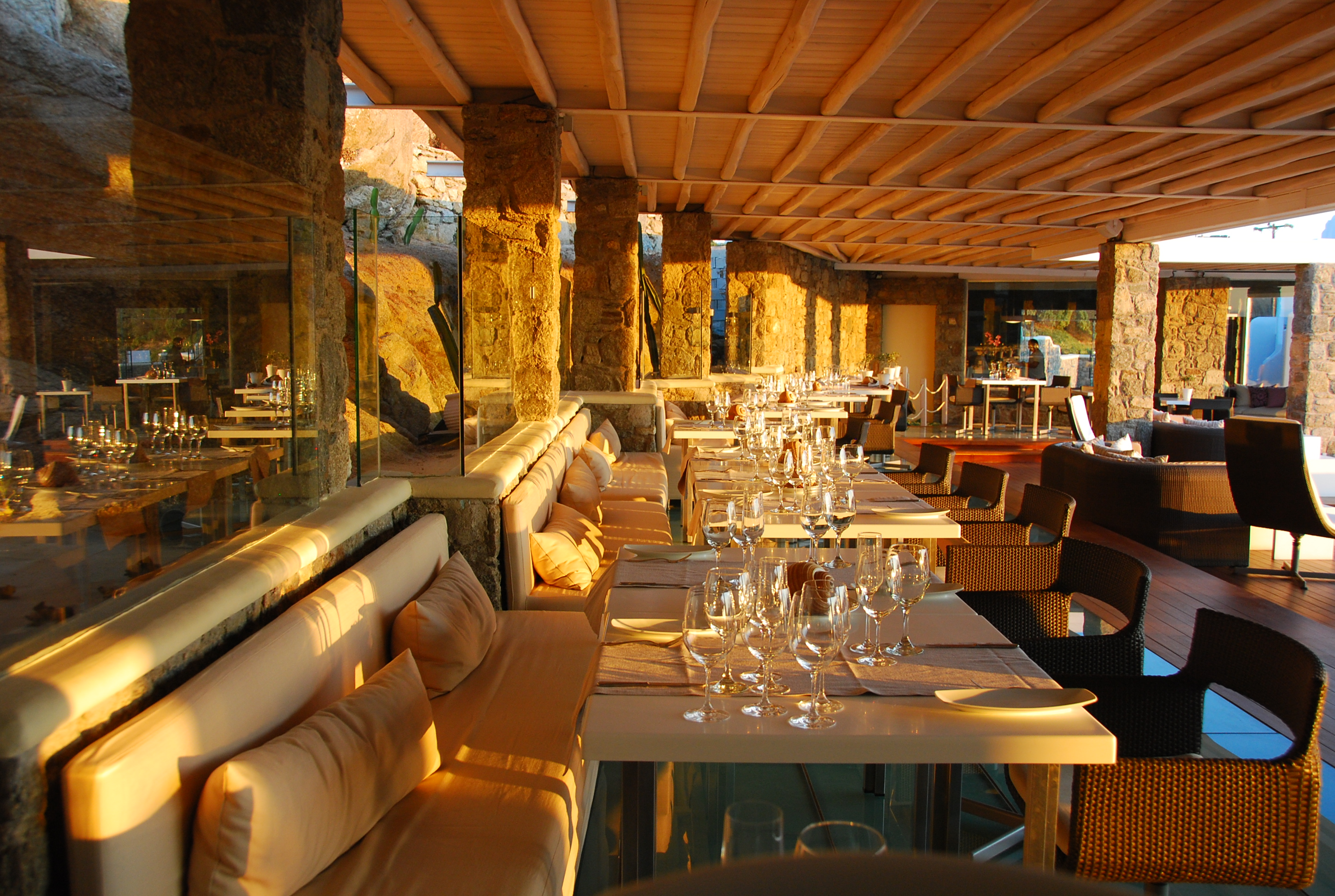 The top restaurants and tavernas in mykonos for Ammos authentic greek cuisine