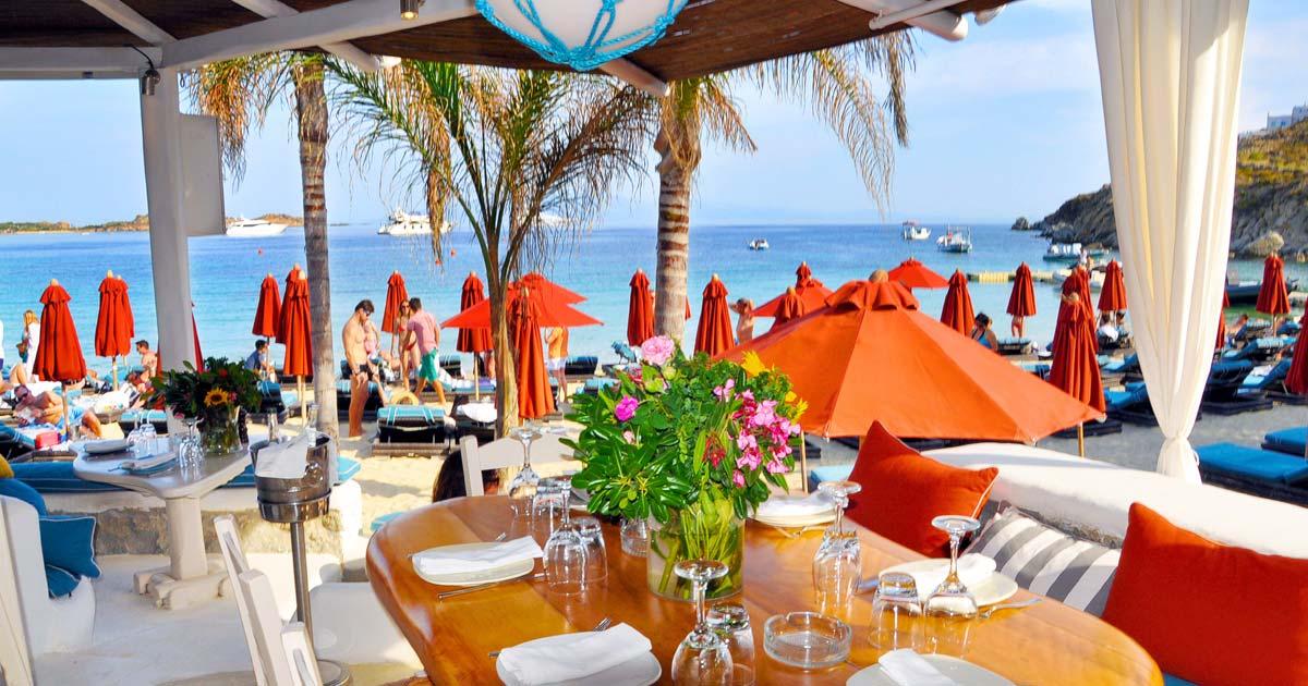 The Top Restaurants And Tavernas In Mykonos Luxury Villa