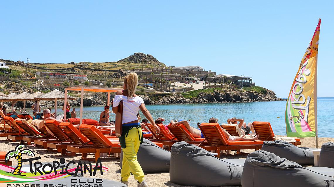 Best Island Beaches For Partying Mykonos St Barts: Best Beach Bars In Mykonos
