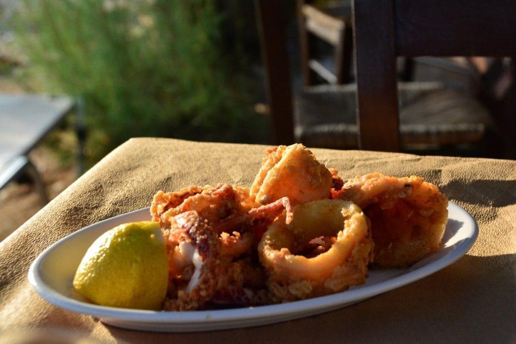 Greek Seafood In Mykonos Luxury Villa In Mykonos