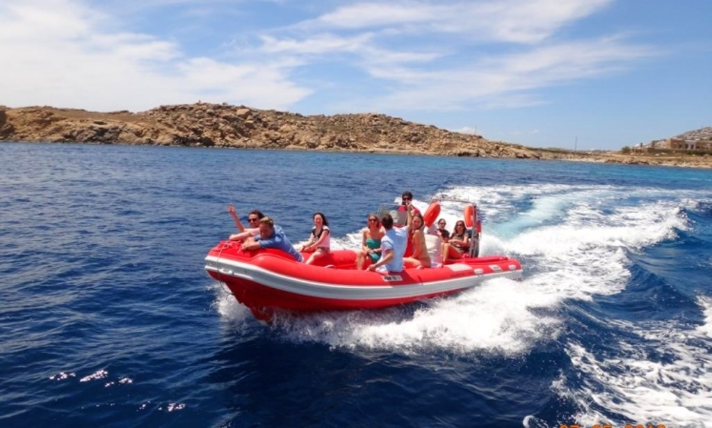 Rib Cruise boat Mykonos