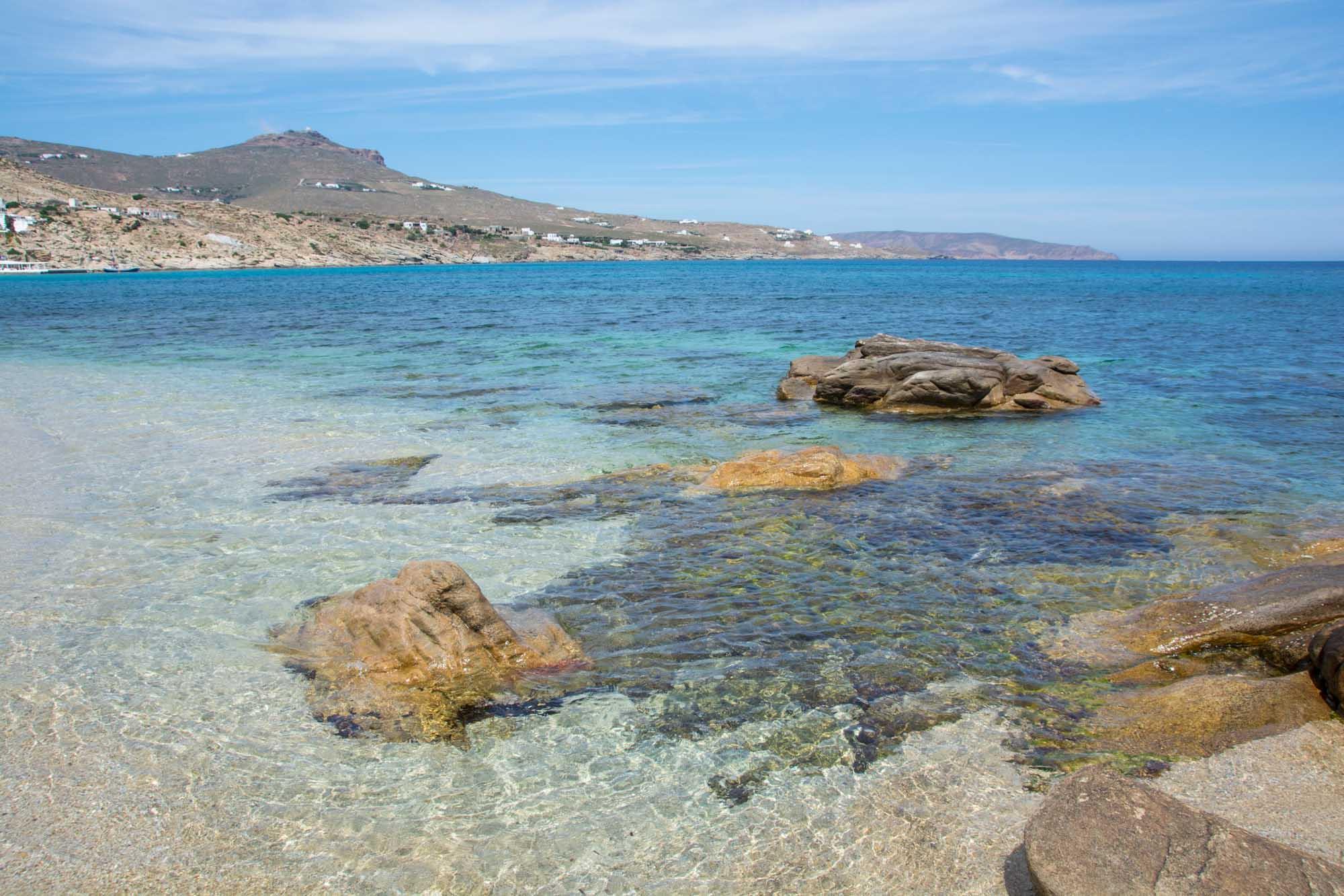 Best Island Beaches For Partying Mykonos St Barts: Best Windsurfing Beaches On Mykonos