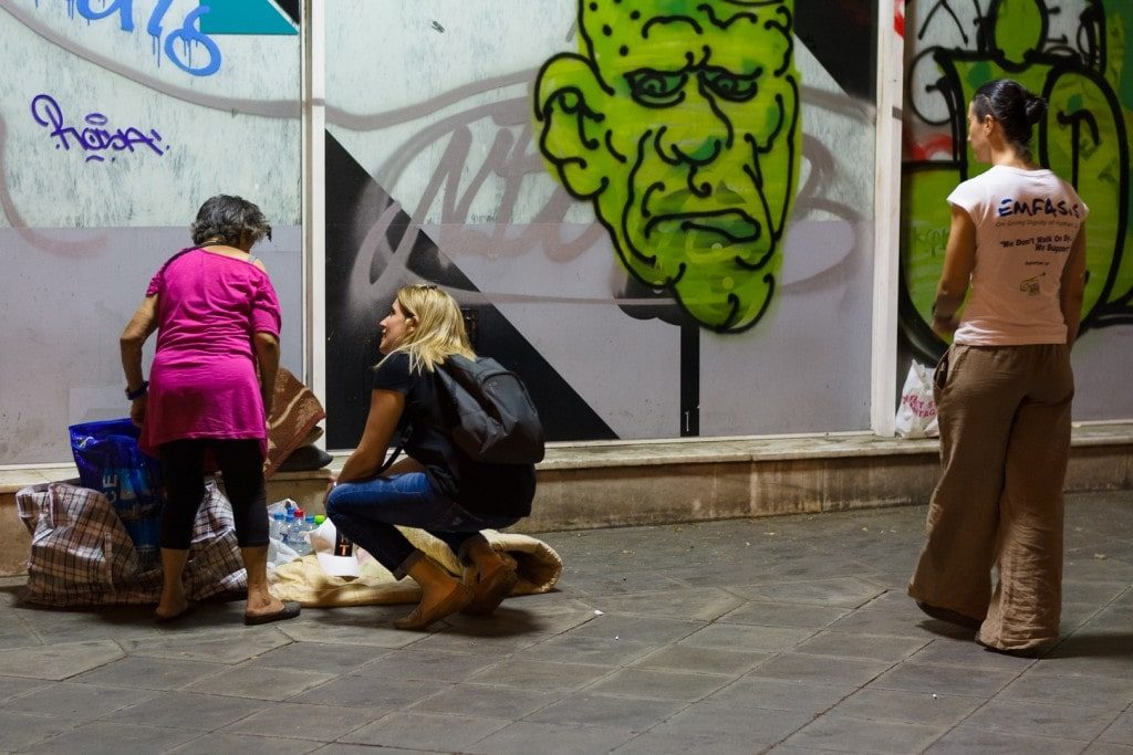 "=""Emfasis charity work in Greece"""